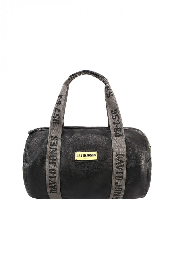 Sac polochon David Jones - Noir