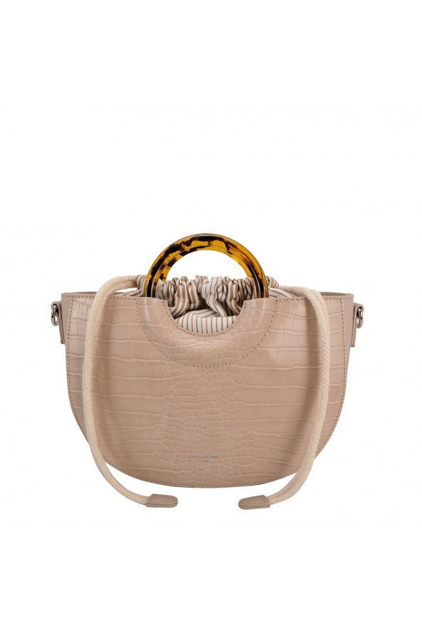 Sac bandoulière David Jones - Beige